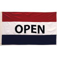 Open Flag - Red, White, Blue