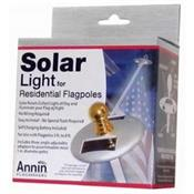 Small Solar Light for Home Mounted Flagpoles