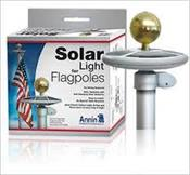 Large Solar Light for Flagpoles 15-25'