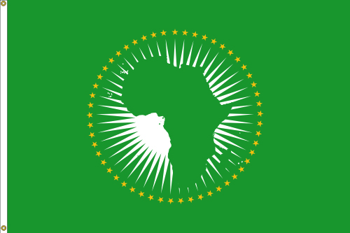 African Union Custom Flag